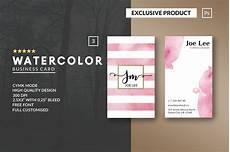 Product Card Templates Personal Watercolor Business Card Business Card