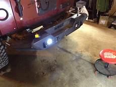 Jeep Jk Flush Mount Lights Installed Flush Mount Led Reverse Lights Jkowners Com