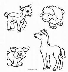 Malvorlagen Tiere Drucken Free Printable Farm Animal Coloring Pages For