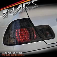 E46 M3 Lights Smoked Black Led Lights For Bmw 3 Series E46 2d