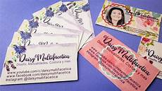 Home Made Buisness Cards How To Make Your Own Business Cards With Cricut Design