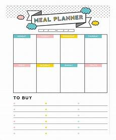 Meal Planning Template Free Meal Plan Template 22 Free Word Pdf Psd Vector