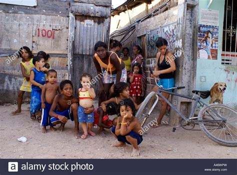 Living In The Favelas