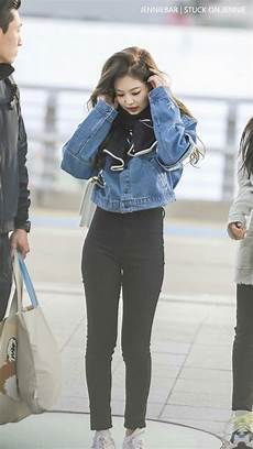 jennie at incheon airport fashion airport imagens