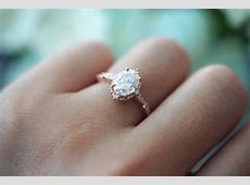 Vintage Oval Moissanite Engagement Ring   Victoria