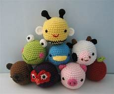 amigurumi crochet animal toys for baby pattern digital