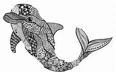 ausmalbilder mandala delfin tippsvorlage info