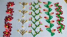 embroidery decorative stitch border design modified