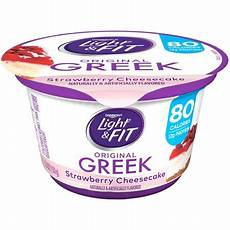 Dannon Light And Fit Strawberry Cheesecake Yogurt Nutrition Dannon 174 Light Amp Fit 174 Greek Strawberry Cheesecake Nonfat