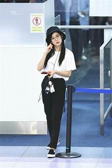 blackpink jisoo airport fashion official korean fashion
