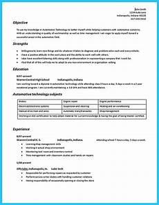 Automotive Technician Resume Writing A Concise Auto Technician Resume