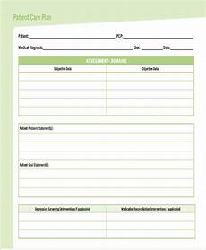 Care Plan Template Care Plan Template 16 Word Pdf Format Download Free