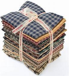 fabric crafts primitive primitive checks homespun fabric quarters 6 yards