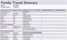 Itinerary Example 30 Itinerary Templates Travel Vacation Trip Flight