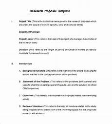 Free Sample Proposal Template Proposal Templates 170 Free Word Pdf Format Download