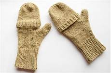 how to knit convertible mittens