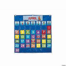 Small Pocket Charts For Teachers Classroom Calendar Pocket Chart