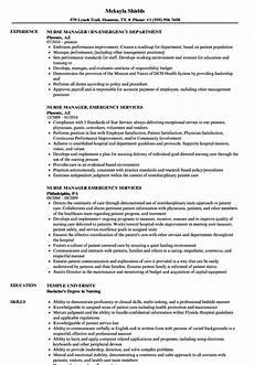 Emergency Room Rn Resumes Emergency Nurse Resume Samples Velvet Jobs