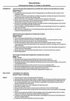 Communication Resume Skills Communication Skills On Resume Example
