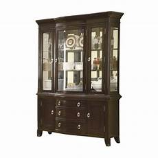 bowery hill china cabinet in espresso bh 451275