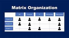 What Is A Matrix Organization What Is A Matrix Organization Youtube