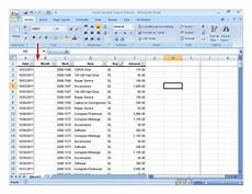 Sample Excel Spreadsheet With Data Spreadsheet Sample Data With Month Column Added