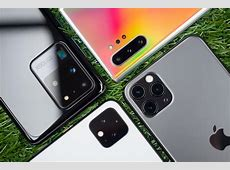 Samsung Galaxy S20 Ultra vs iPhone 11 Pro Max vs Pixel 4