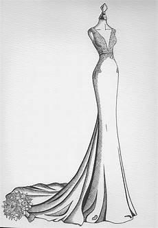 wedding dress sketches wedding dress drawing wedding