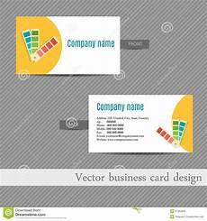 Advertising Agency Visiting Card Design Business Card Design For An Advertising Agency Stock