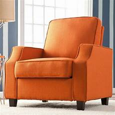 orange accent chair upton home corey orange upholstered accent arm chair