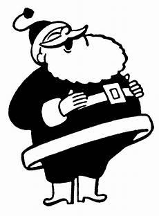 Black And White Christmas Graphics Retro Christmas Clip Art Funny Santas The Graphics Fairy