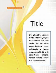 Word Cover Template 39 Amazing Cover Page Templates Word Psd ᐅ Templatelab