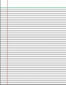 College Rule Notebook Paper College Rule Lined Paper Can Download And Print