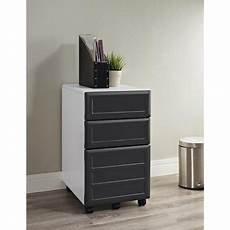 ameriwood home pursuit mobile file cabinet white gray
