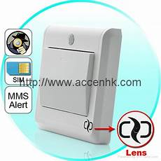 Light Switch Camera Hd Spy Camera Light Switch With Gsm Remote Control Motion