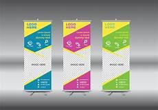 Publisher Banner Templates Roll Up Banner Template Vector Illustration Download