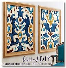 fabric crafts frames 11 inexpensive quality home decor diy projects framed