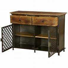 treviso iron freestanding 2 drawer industrial storage cabinet