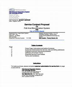 Proposal And Contract Template Free 8 Proposal Contract Templates In Pdf Ms Word