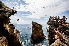 highest cliff dive cliff diving world series what you need to