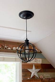 Convert A Can Light To A Pendant Light 5 Minute Light Upgrade Converting A Recessed Light To A