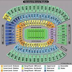 Hob Cleveland Seating Chart Cleveland Browns Firstenergy Stadium Seating Chart View