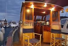 gozzo legno cabinato gozzo cabinato legno 10mt cantiere di pinto maestri d
