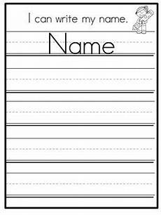 Writing Name Template Editable Name Practice Standard Print Bundle By Kreative