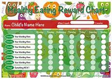 Healthy Chart A3 Healthy Eating Childrens Reward Chart Quality Uk Products