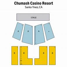 Chumash Casino Concerts Seating Chart Chumash Casino Resort Santa Ynez Tickets Schedule
