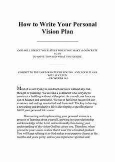 How Do You Write A Personal Mission Statement Vision Statement Examples Alisen Berde