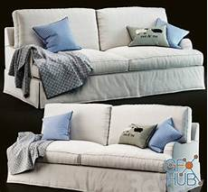 Slipcovered Sofa 3d Image by 3d Model Pb Arm Slipcovered Sofa Gfx Hub