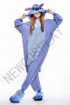 blue stitch onesie by newcosplay onesie