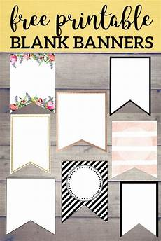 Diy Banner Template Free Printable Banner Templates Blank Banners Free